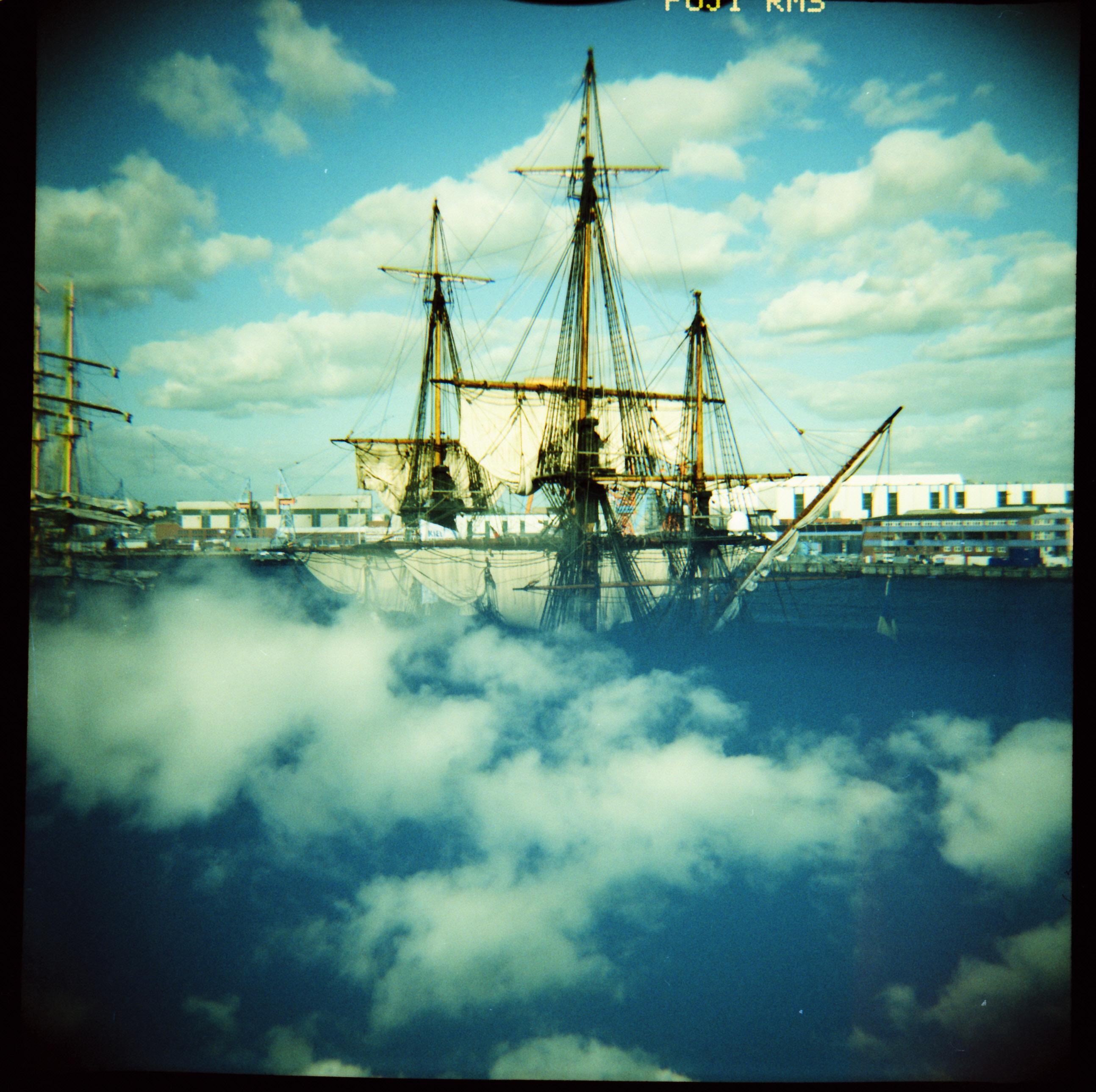 Wolkenschiff, doppelbelichtung, MX, lomo, diana f+, splitzer