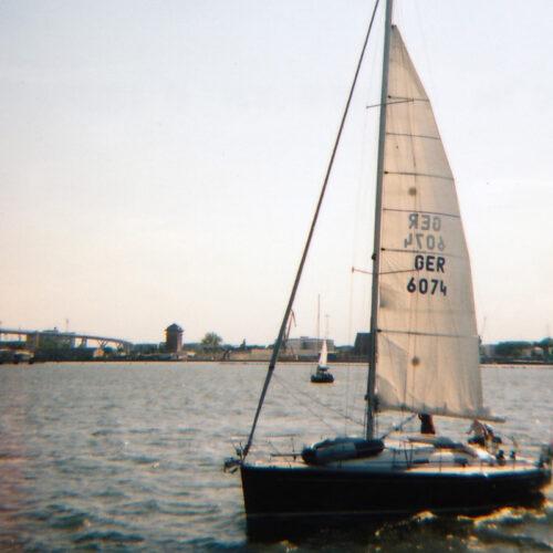 Hafenrundfahrt Stralsund analog Lomoherz