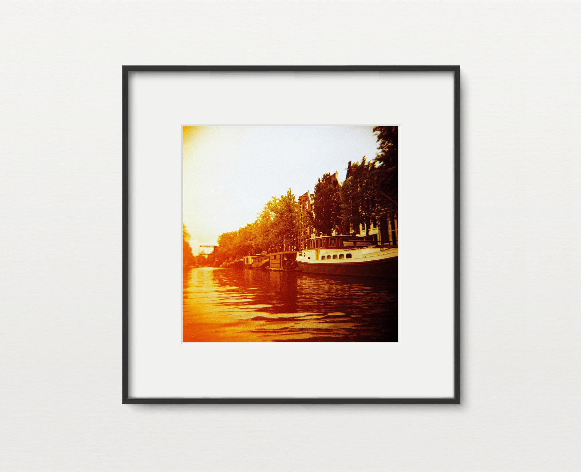 Golden Amsterdam Print