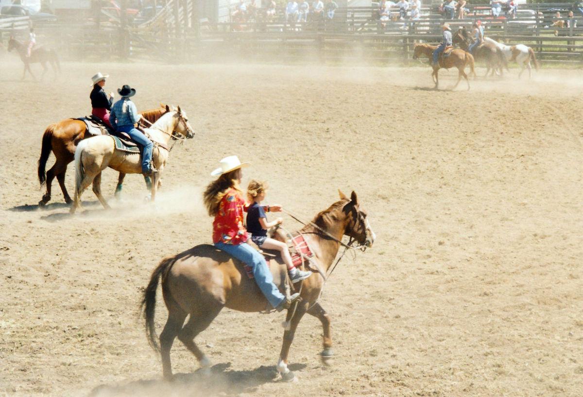 Rodeo in Bridge Lake
