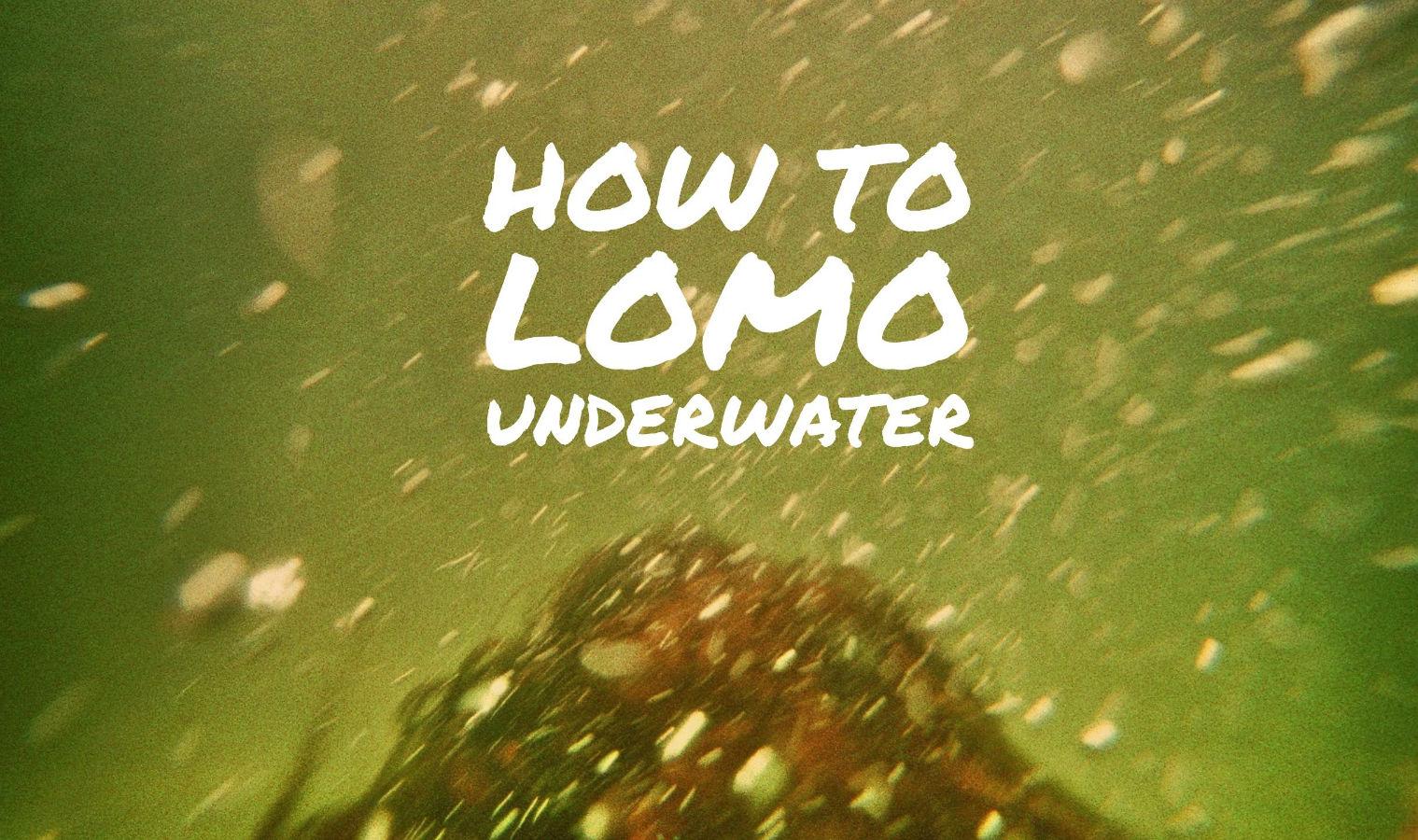 Underwater Lomography Krab analog X-Pro Lomoherz