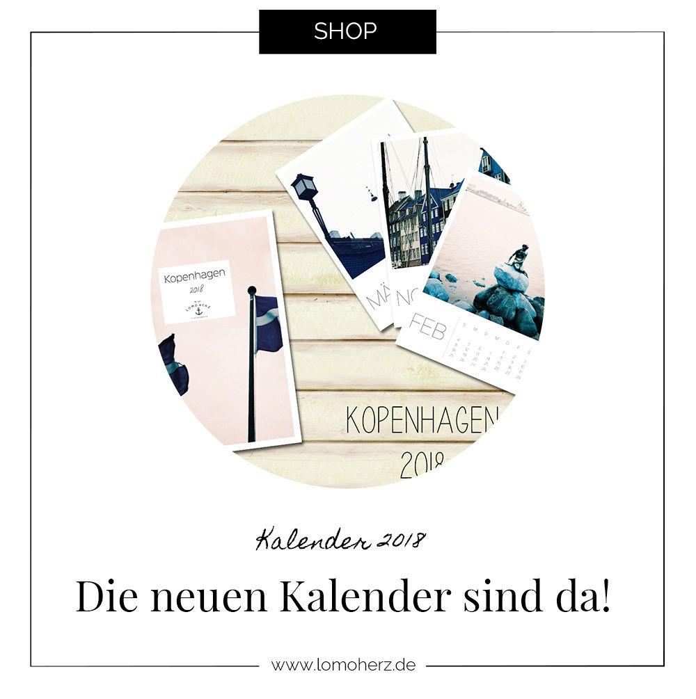 Neue Kalender 2018 Lomoherz