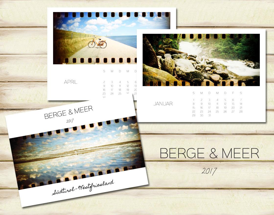 Kalender Berge & Meer (c) Lomoherz