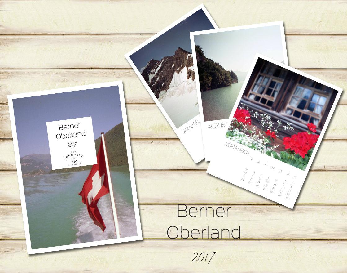 Berner Oberland Kalender (c) Lomoherz