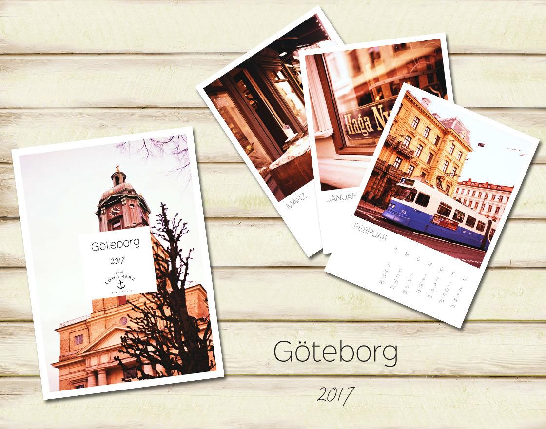 Titelbild Göteborg Kalender (c) Lomoherz