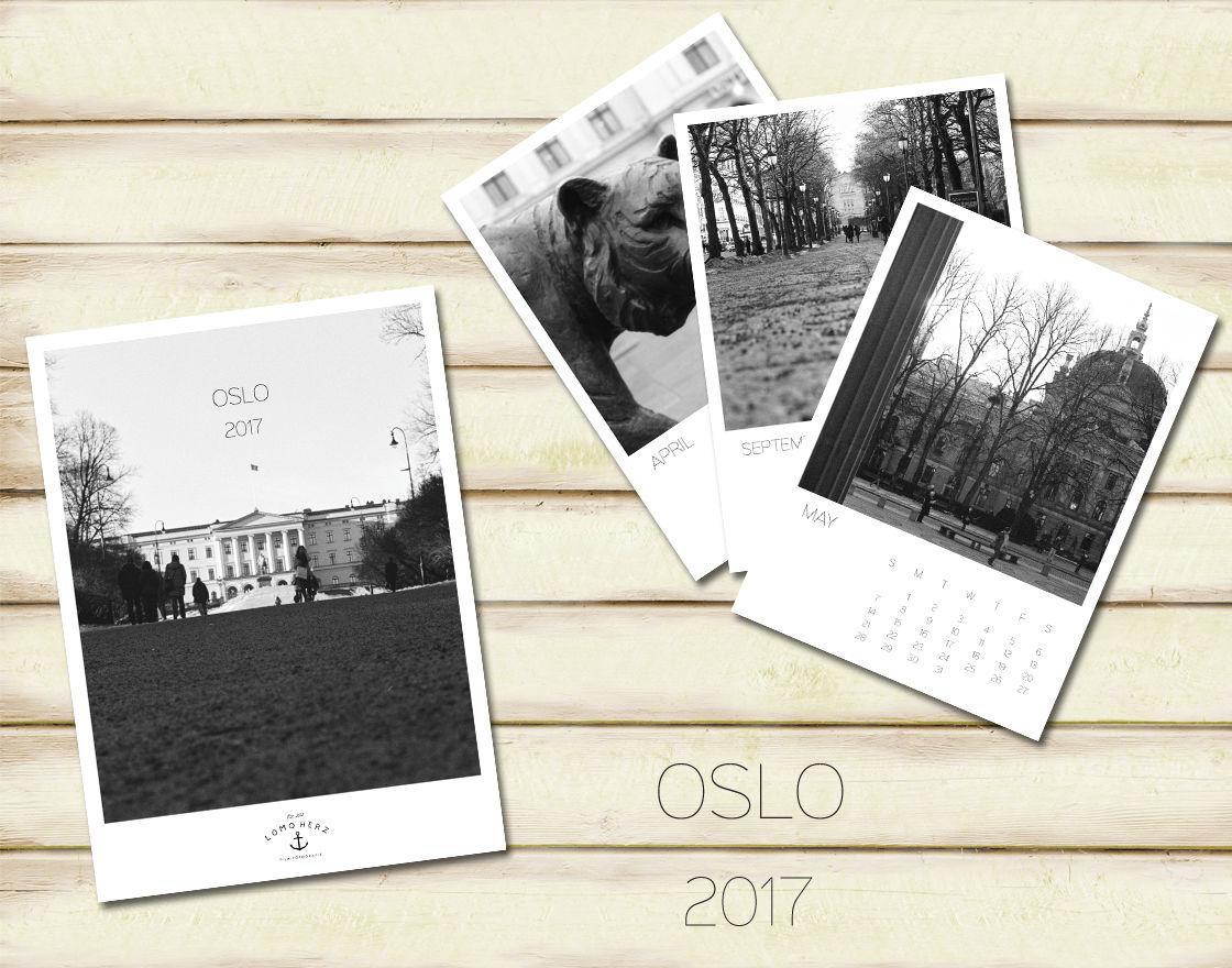Oslo Kalender (c) Lomoherz