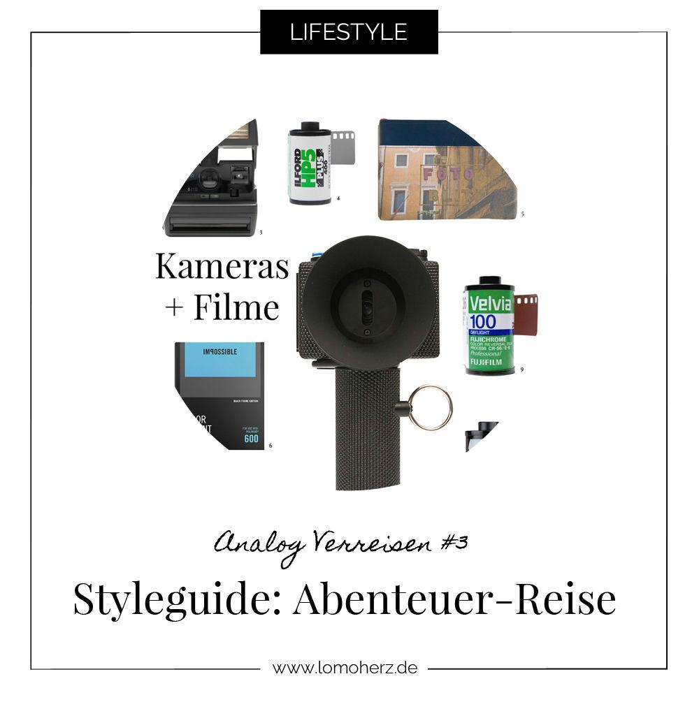 Styleguide Reise Analog Verreisen Lomoherz