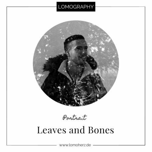 Leaves and Bones analog Portrait Lomoherz