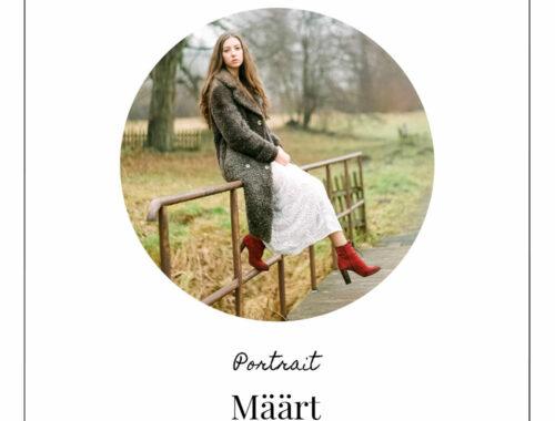 März - Määrt Portrait Kalenner Deern Lomoherz