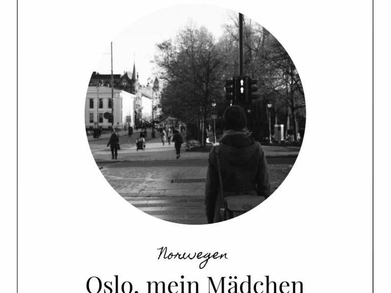 Oslo mein Mädchen Lomoherz
