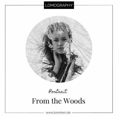 From the Woods Doppelbelichtungen Portrait Lomoherz