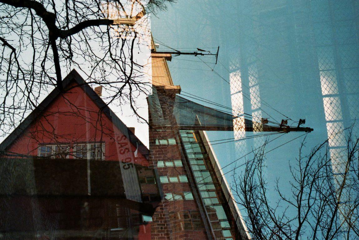 Stralsund analoge Doppelbelichtung Lomoherz