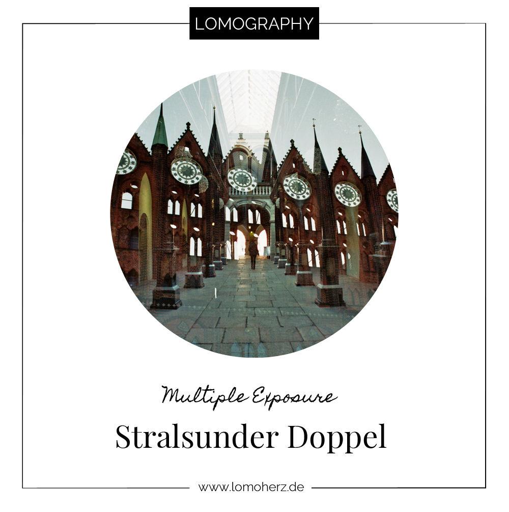 Doppelbelichtungen Stralsund Lomography Lomoherz