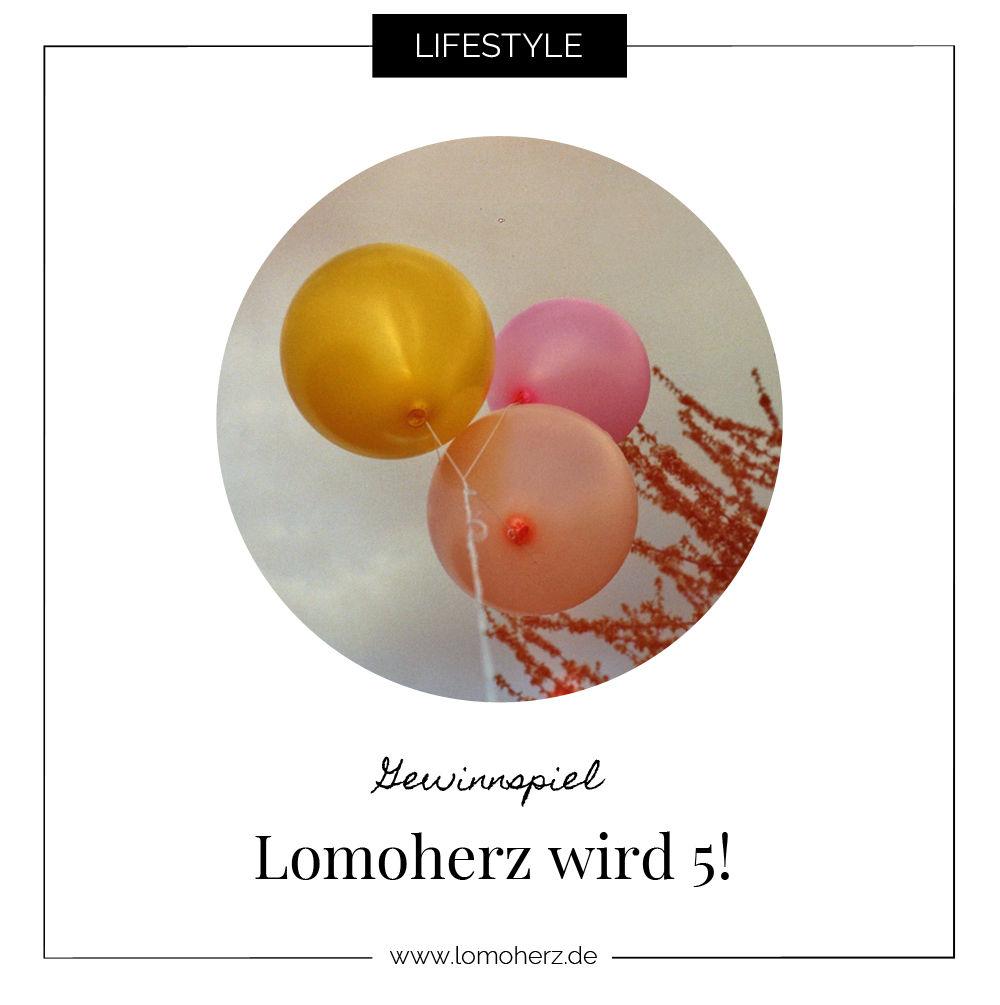 Bloggeburtstag Lomoherz wird 5