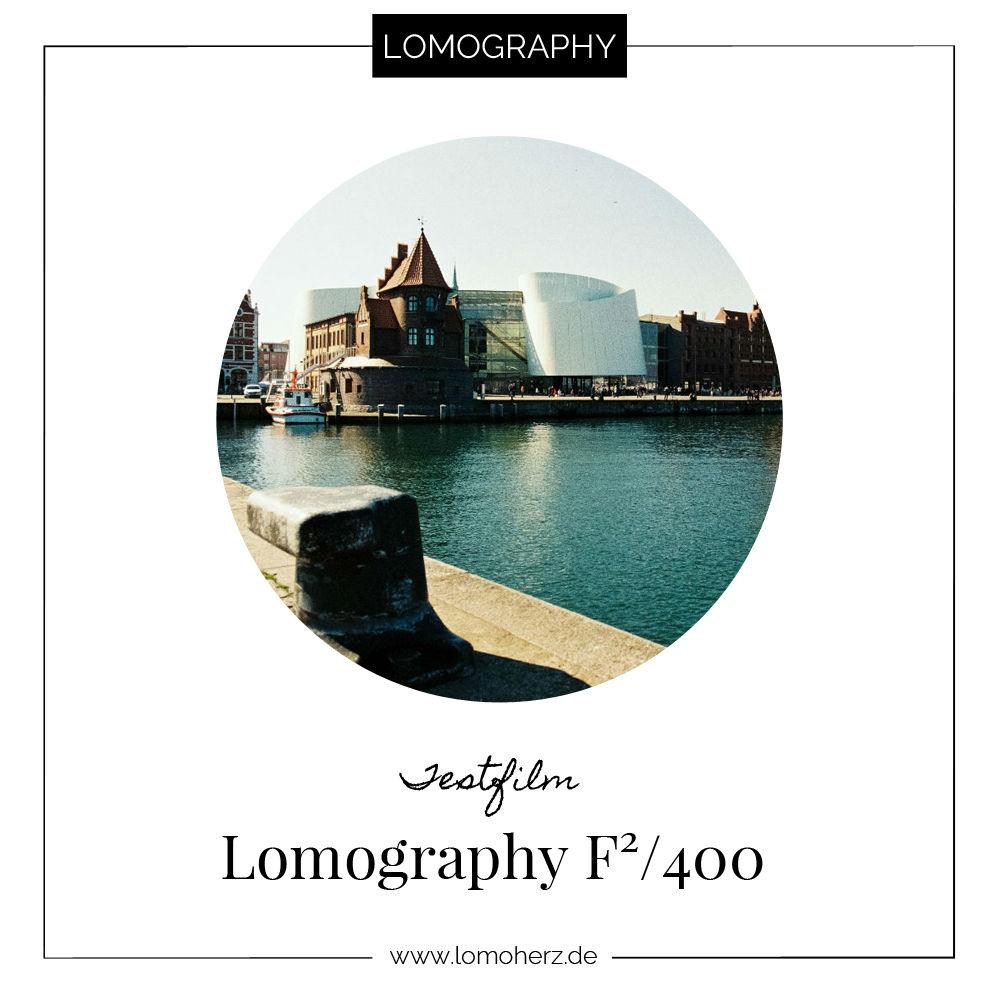 Testfilm Lomography F² 400 Ferrania Lomoherz