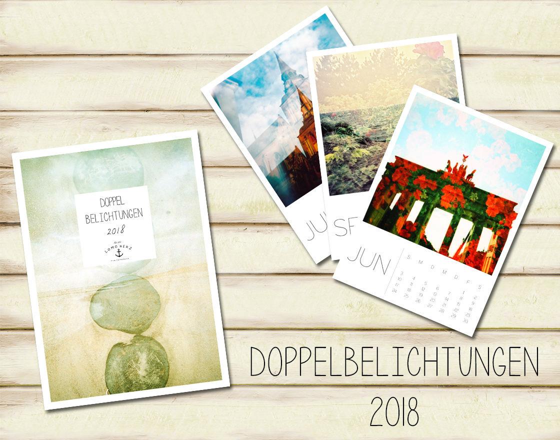 Kalender Doppelbelichtungen 2018
