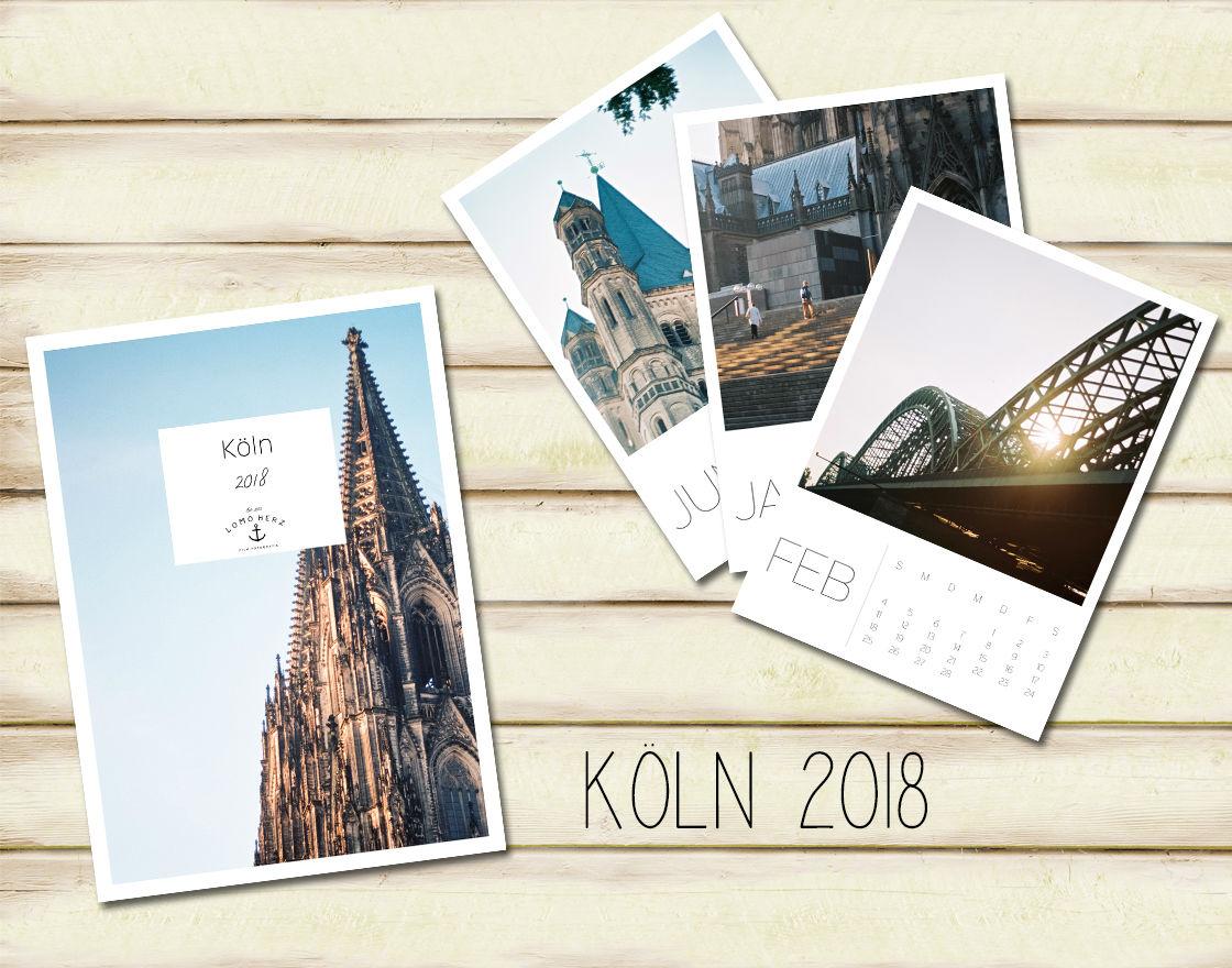 Kalender Köln 2018