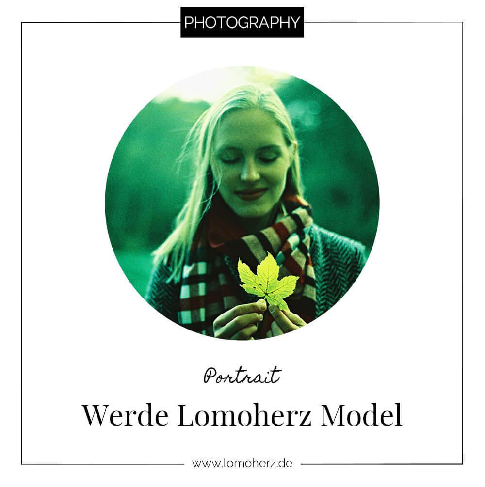 Portrait: Werde Lomoherz Model (c) Lomoherz
