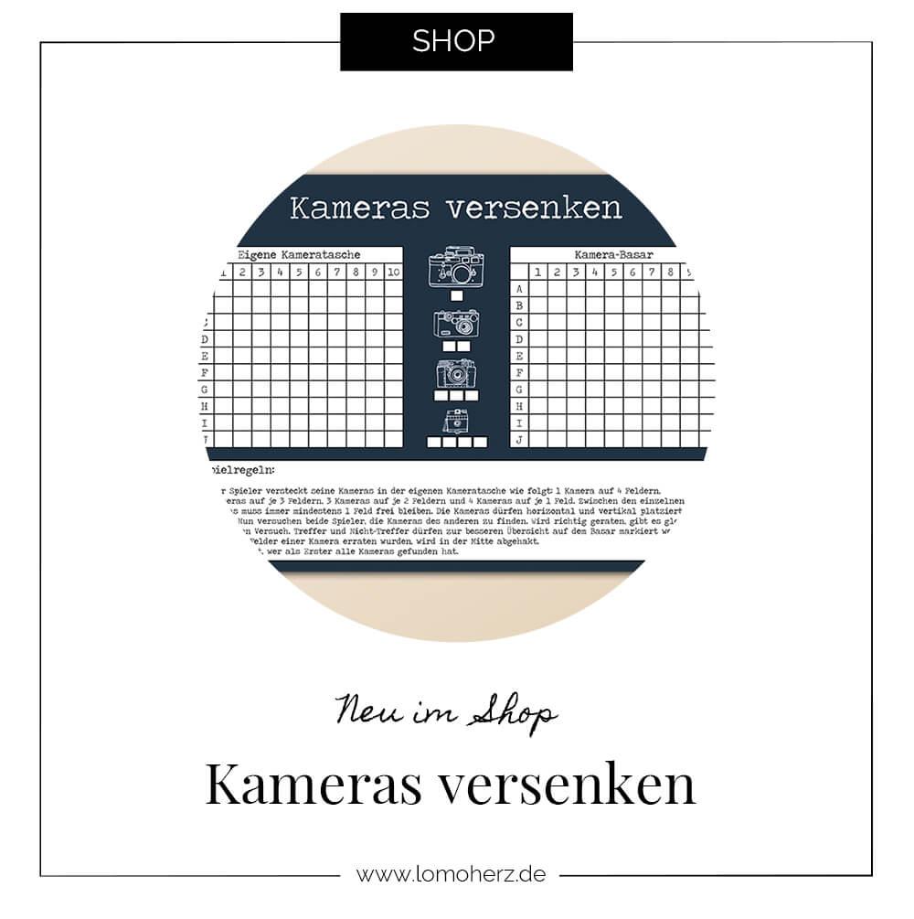 Kameras versnken Spielblock Lomoherz Shop