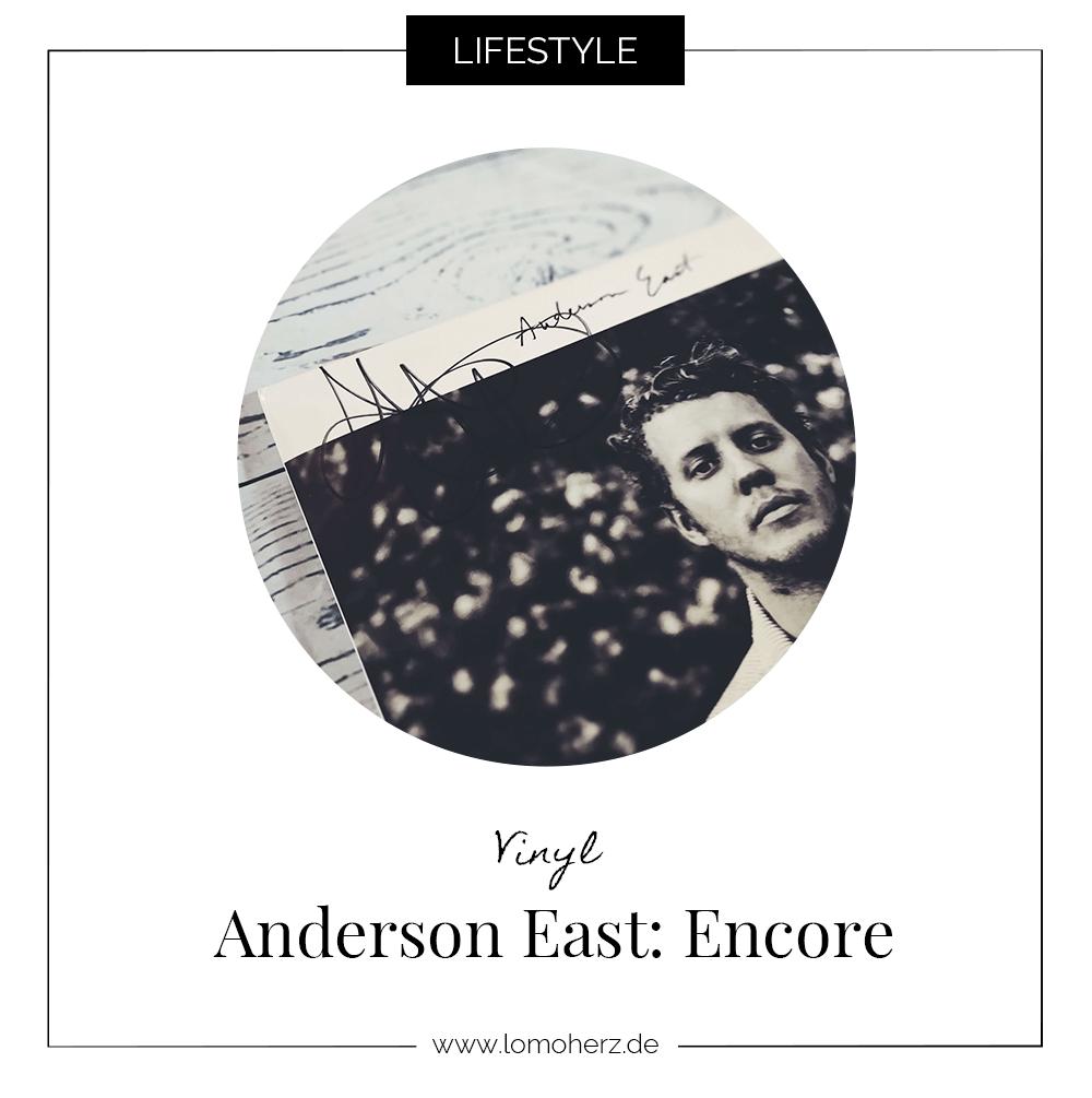 Vinyl Anderson East Encore