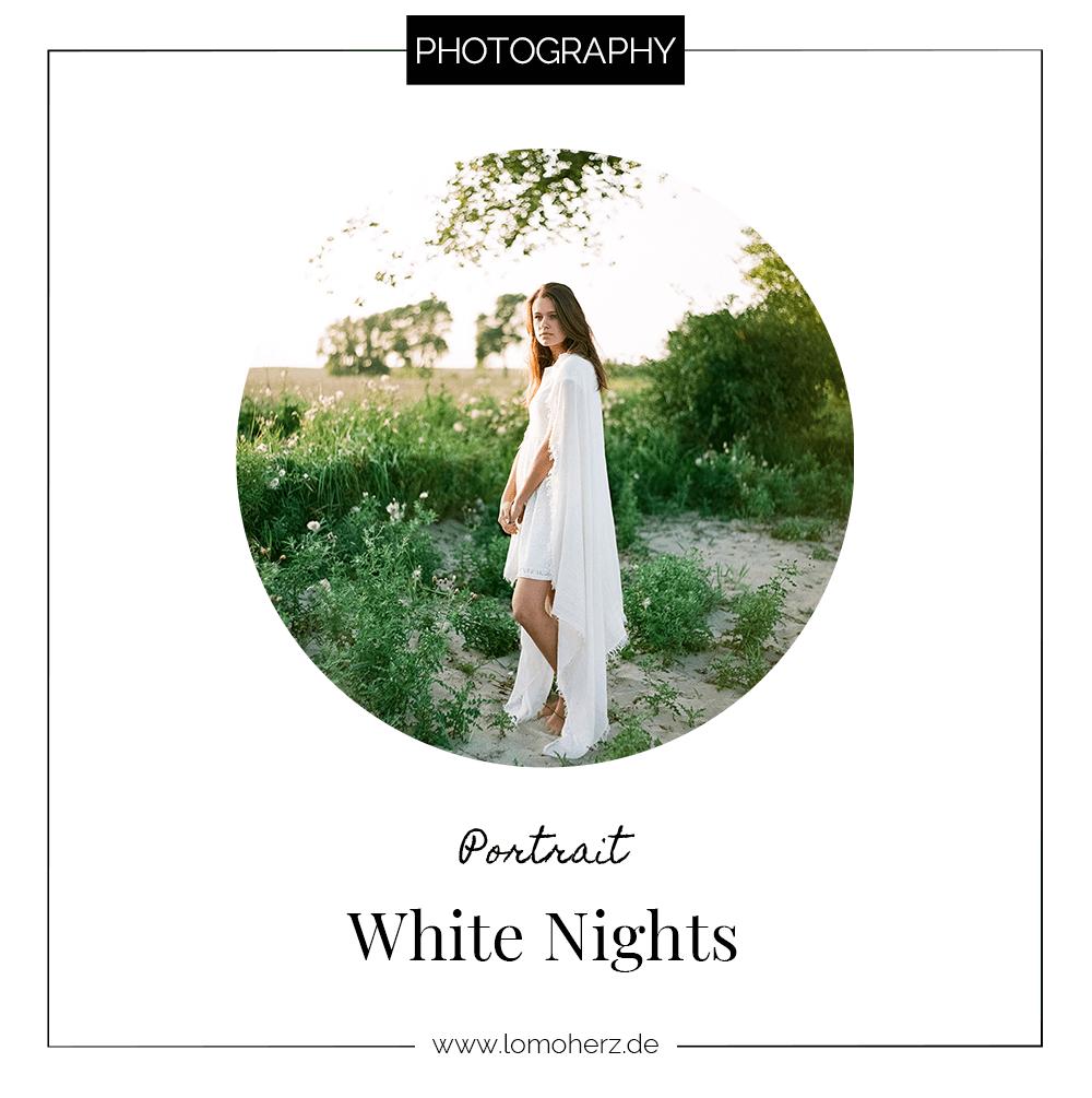 White Nights Analog Portrait Shoot
