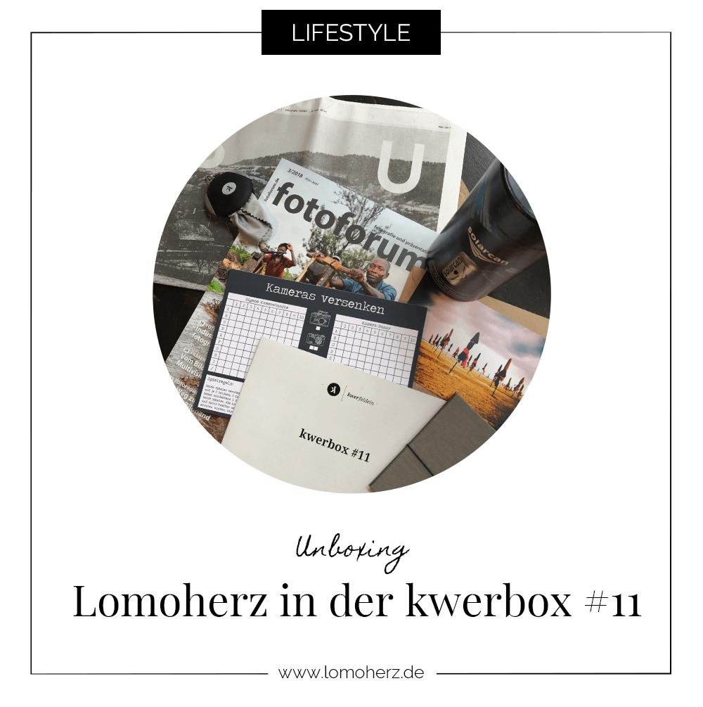UNboxing kwerbox von Lomoherz