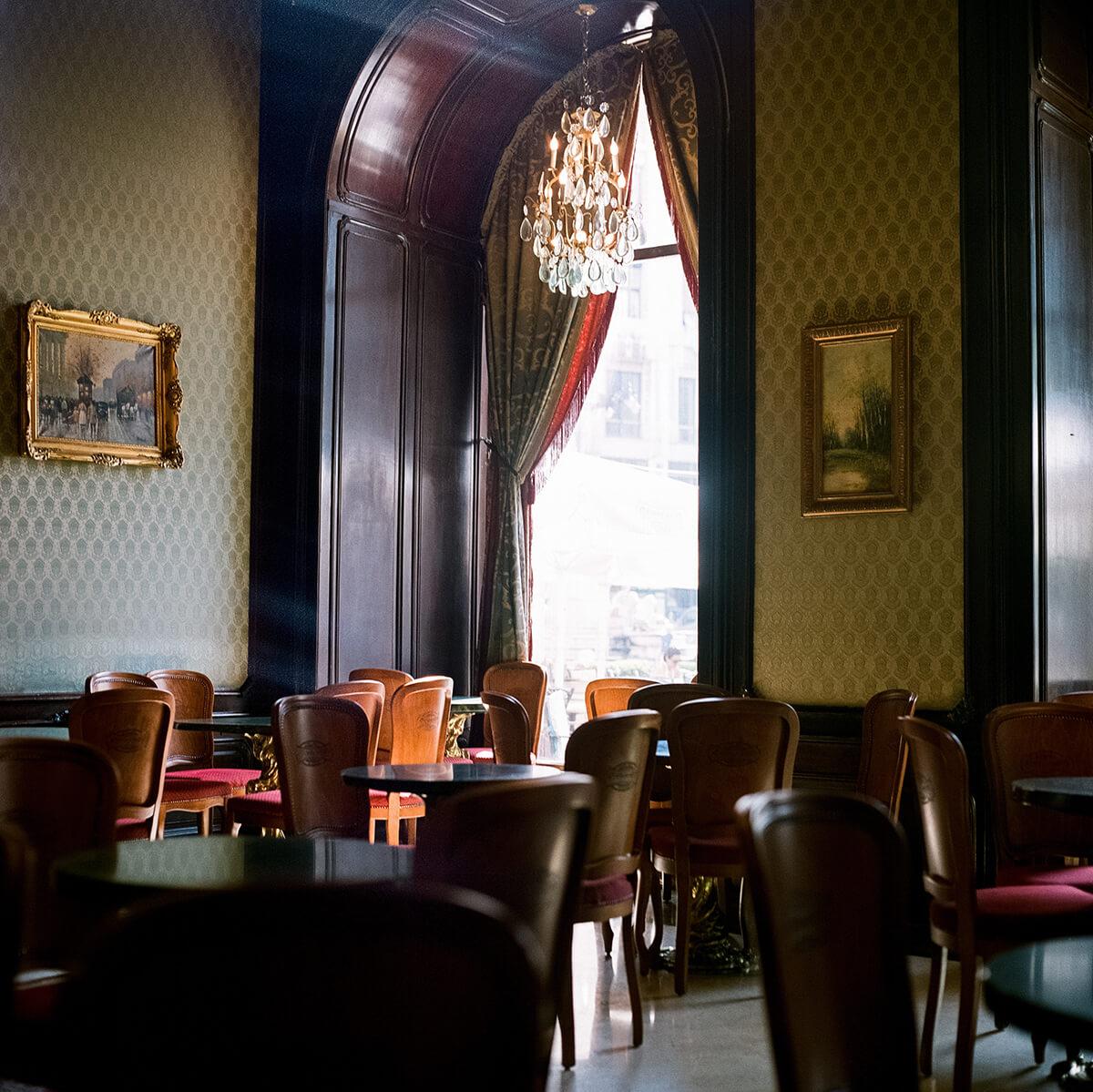 Gerbeaud Coffeehouse Budapest (c) Lomoherz