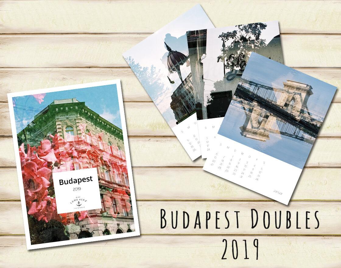 Kalender Calendar 2019 Lomoherz Budapest Lomography
