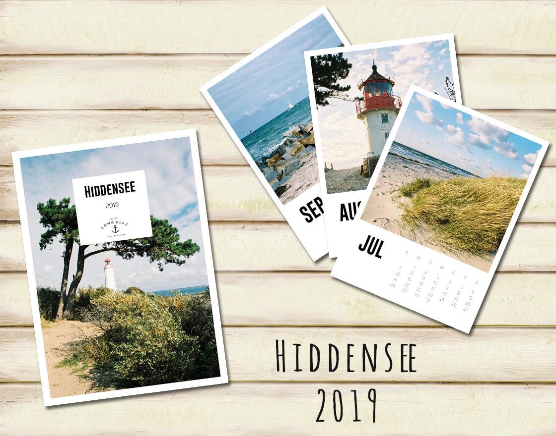 Kalender Calendar 2019 Lomoherz Hiddensee